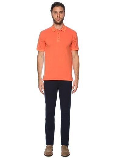 George Hogg George Hogg 7003097 Polo Yaka Slim Fit Lacivert Tshirt Erkek Tişört Kırmızı